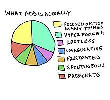 A.D.D Graph Photographic Print