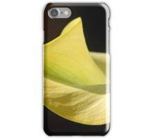 Curvy Calla iPhone Case/Skin