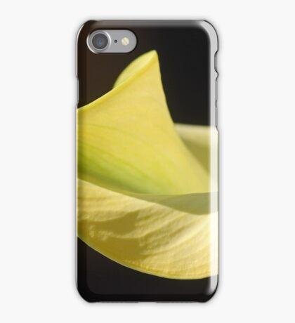 Curvy Calla iPhone Case/Skin