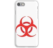 Resident Evil - Biohazard symbol  iPhone Case/Skin