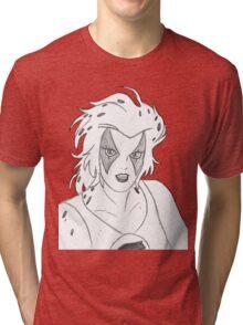 Fastest ThunderCat Tri-blend T-Shirt