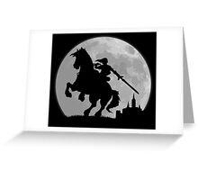 Moonlight Ride Greeting Card