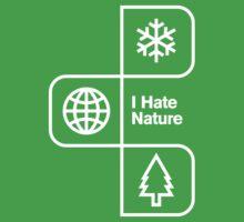 I Hate Nature Baby Tee
