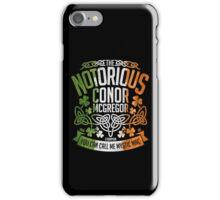 Conor McGregor Crest [TRICOL] iPhone Case/Skin