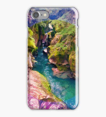 Trail of Cedars, Montana _ American Cutouts iPhone Case/Skin