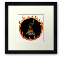 Darksign Bonfire Framed Print