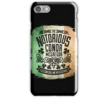 Conor McGregor Crest Tricolour iPhone Case/Skin