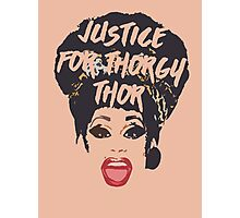 justice for thorgy </3 Photographic Print