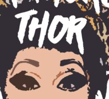 justice for thorgy </3 Sticker