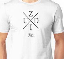 ZzuDii (Kreuz logo Schwarz) Unisex T-Shirt