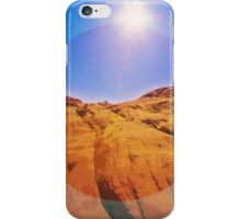 Slick Rock Formation, Arizona _ American Cutouts iPhone Case/Skin