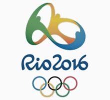 Rio 2016 Olympics Design Kids Tee