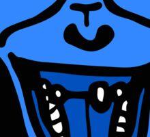 Iron Chimp Blue Sticker