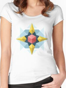 Geometric Design #1 Women's Fitted Scoop T-Shirt
