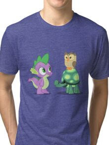 Spike and Friends Tri-blend T-Shirt