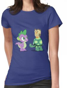 Spike and Friends Womens Fitted T-Shirt
