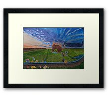 Revsiting, the childhood ride Framed Print