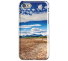 Edge of Glacier National Park, Montana _ American Cutouts iPhone Case/Skin