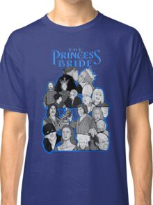 the Princess Bride character collage Classic T-Shirt