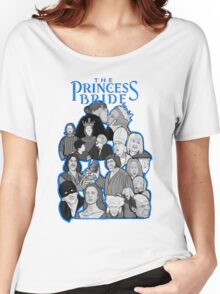 the Princess Bride character collage Women's Relaxed Fit T-Shirt