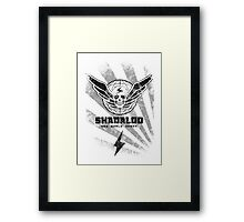 Shadaloo-New World Order Framed Print