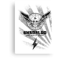 Shadaloo-New World Order Canvas Print