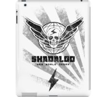 Shadaloo-New World Order iPad Case/Skin