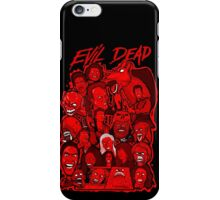Evil Dead collage art iPhone Case/Skin