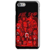 Evil Dead collage art iPhone Case/Skin