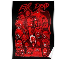 Evil Dead collage art Poster