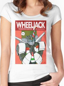 Wheeljack - The Revived Scientist Women's Fitted Scoop T-Shirt