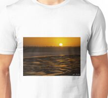 Tidal Pattern at Sunset Unisex T-Shirt