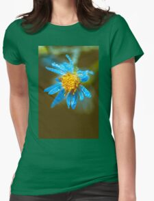 Autumn dew Womens Fitted T-Shirt
