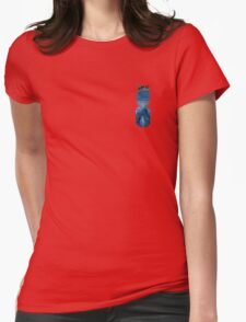 Agate Pineapple Womens Fitted T-Shirt