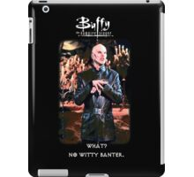 witty banter iPad Case/Skin