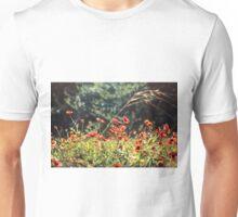 Texas. Indian blanket wildflowers. Unisex T-Shirt