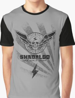 Shadaloo-New World Order Graphic T-Shirt