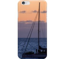 Evening sail iPhone Case/Skin