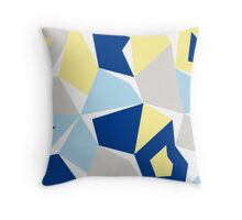 Moonshine cushion blue Throw Pillow