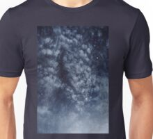Blue veiled moon II Unisex T-Shirt