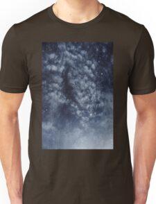 Blue veiled moon II Unisex T-Shirt