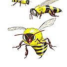 Bees by David Fraser