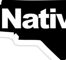 North Carolina Native Sticker