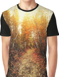Red Forest, Washington in November Graphic T-Shirt