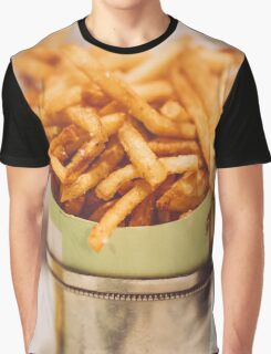 Fries in French Quarter, New Orleans Graphic T-Shirt