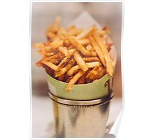 Fries in French Quarter, New Orleans Poster