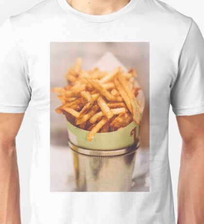Fries in French Quarter, New Orleans Unisex T-Shirt