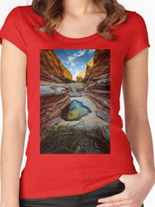 Ernst Canyon, Big Bend, Texas Women's Fitted Scoop T-Shirt