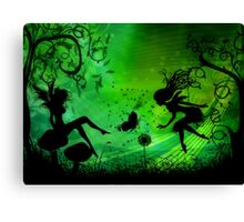 Wishes for Fairies Canvas Print