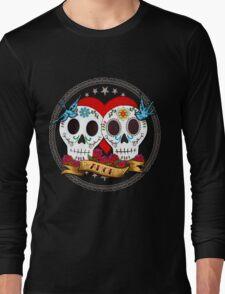 Love Skulls Long Sleeve T-Shirt
